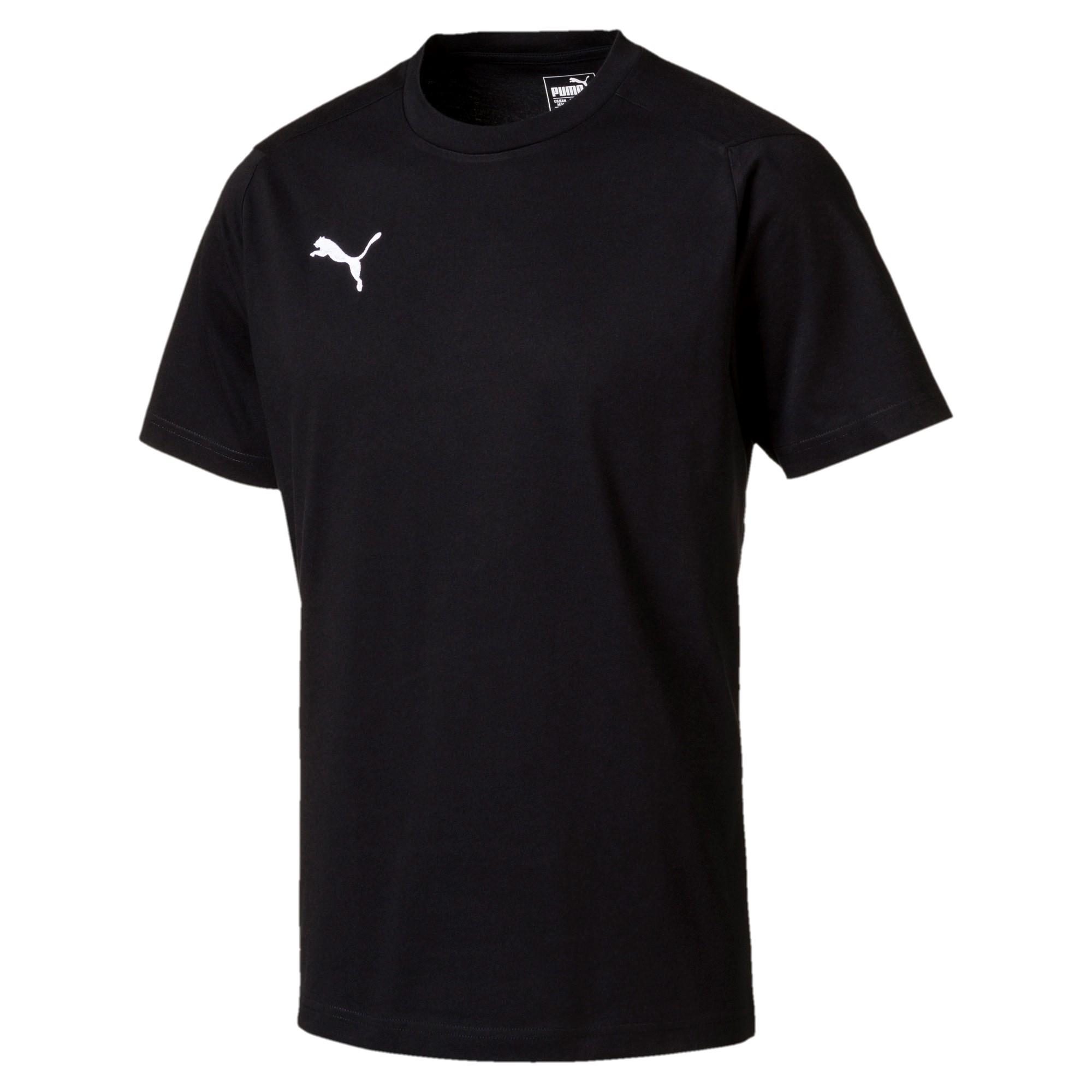 Ligua Casual T-shirt black (prix adultes/ juniors)